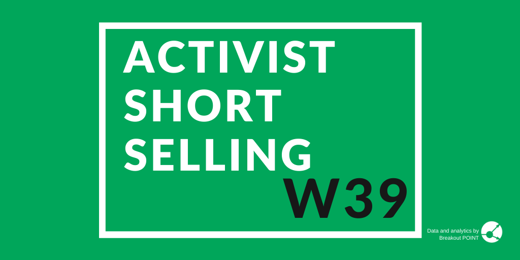 Activist Short Selling in W39