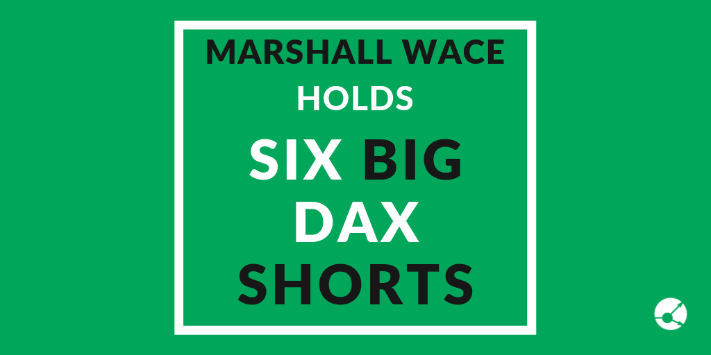 Marshall Wace shorting 6 DAX firms