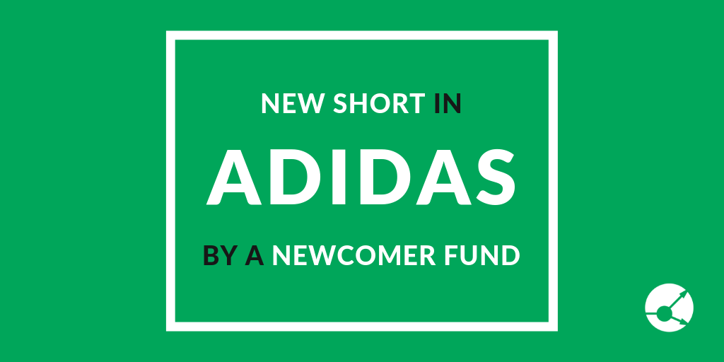 Newcomer fund shorted Adidas