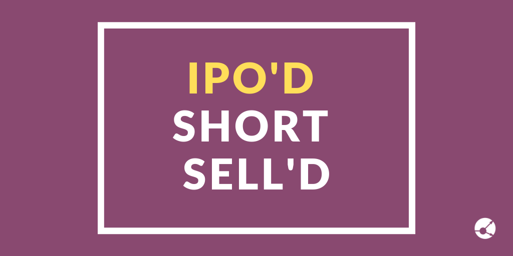 Short Selling in UK 2018 IPOs
