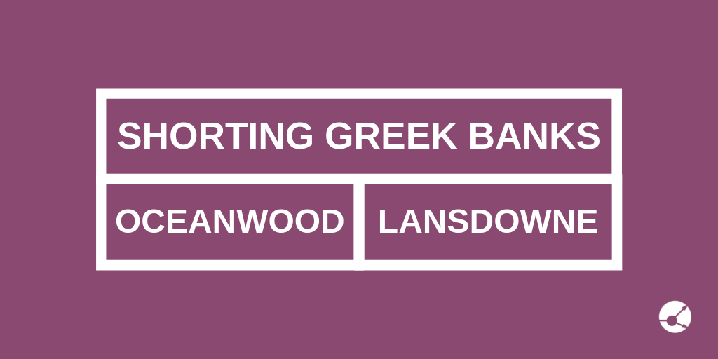 Two funds shorting Greek banks